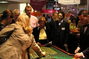 Mobiles Casino - Messestand