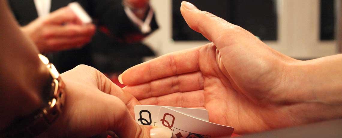 Poker mieten und Texas Hold'em mit Las Vegas Flair spielen